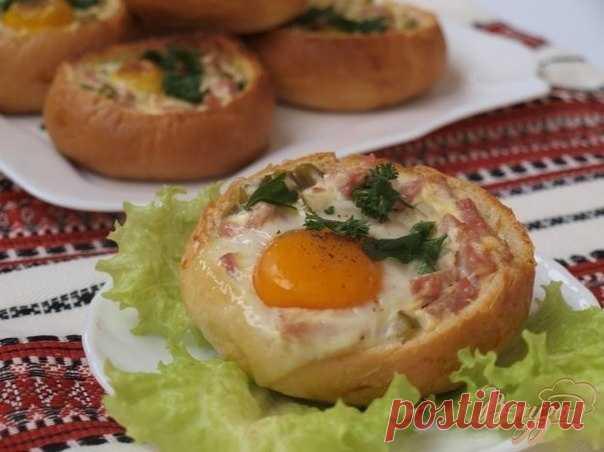 Как приготовить закусочные булочки - рецепт, ингридиенты и фотографии