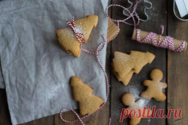 Готовимся к праздникам – Рождественские имбирные пряники