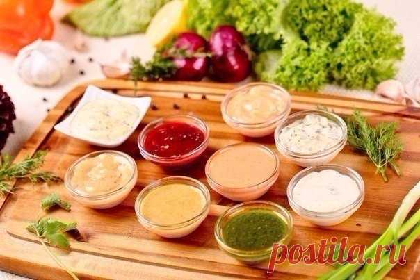 10 рецептов вкусных соусов