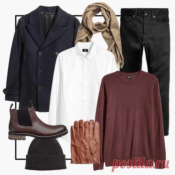 Осенью многослойные сочетания становятся наиболее актуальными! Начните новый модный сезон, добавив в свой гардероб уютные трикотажные модели, лаконичное стильное пальто и аксессуары, выполненные в красно-коричневой цветовой гамме. #HMMan