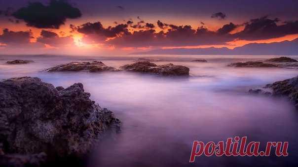 Рассвет на Крите. Фотограф – Andrey Ushakov: Доброе утро!