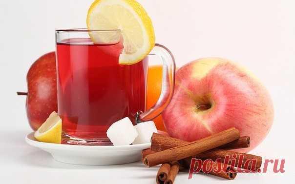 Яблочная вода с корицей - природный ускоритель метаболизма!   Хороший метаболизм- это залог идеальной фигуры  Рецепт детокс-напитка:  1 яблоко тонко нарежьте, лучше брать ароматные сорта. 1 палочку корицы и ломтики яблок поместите в кувшин и залейте чистой водой. Поместите в холодильник на 1-2 часа.  Сочетание яблока и корицы улучшает обмен веществ, снижает вес за счет вывода лишней жидкости из тела.