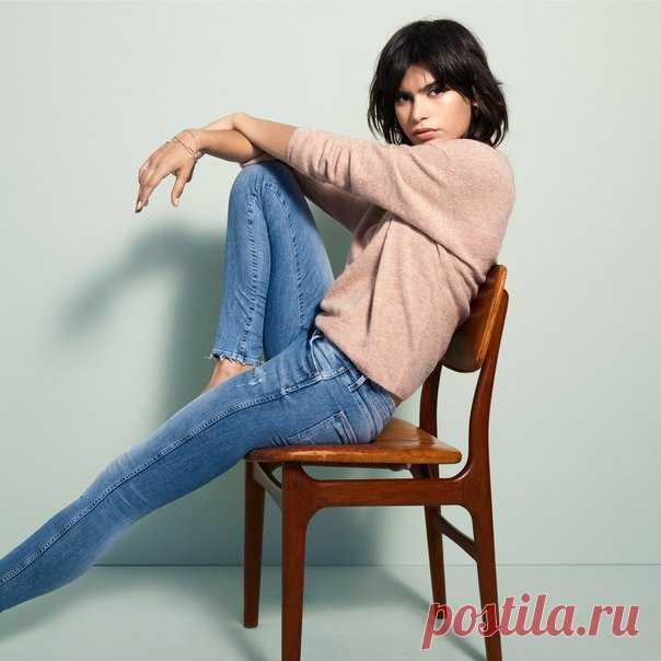 Идеальные скинни-джинсы можно носить всегда и везде! #hmfashion #hmdenim #hm