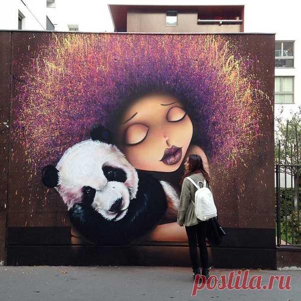 Как вам граффити?