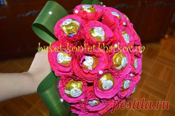 Мастер-классы по букетам из конфет (свит-дизайну). | Гильдия свит-дизайнеров-букеты из конфет сегодня | ВКонтакте