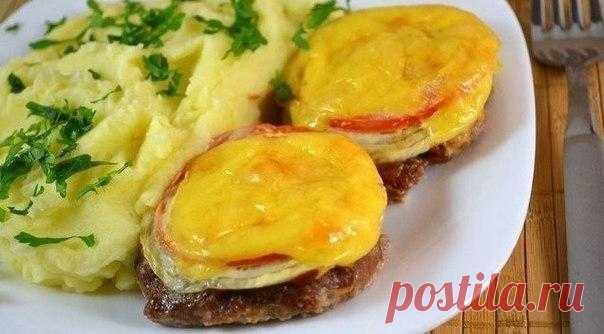 Сочные котлеты с овощами и сыром – шикарный ужин гарантирован!