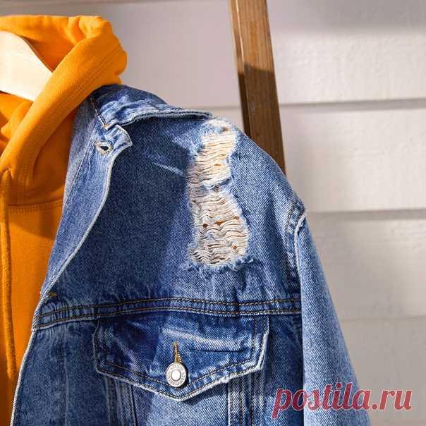 31ca6d28175a Джинсовая куртка — один из самых популярных предметов мужского гарде ...