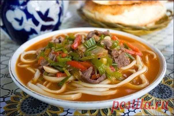 шеф-повар Одноклассники: Лагман- узбекский густой  - простое в приготовление аппетитное блюдо
