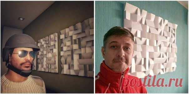 Волгоградец потратил 15 часов и две тысячи рублей, чтобы сделать картину из GTA V. Мужчине уже поступали заказы на аналогичные картины, однако он отказался, заявив, что делает инсталляции только в подарок.