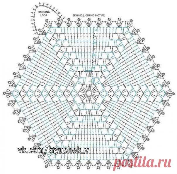 варианты шестиугольника крючком схемы шестиугольник может применя