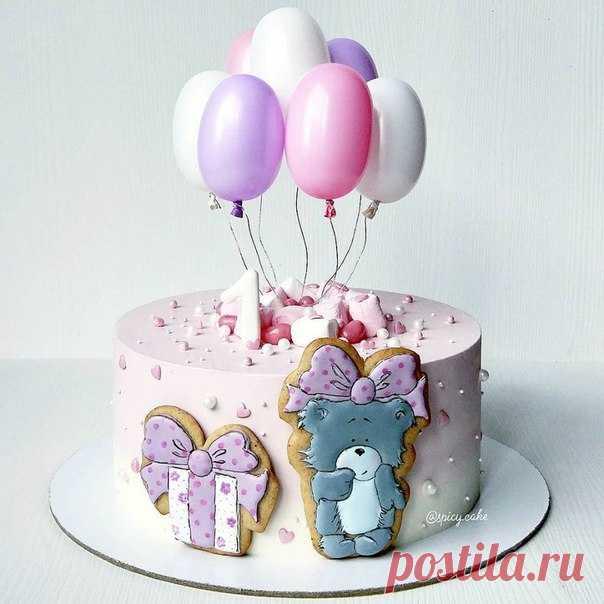 Тортик для малютки ❤