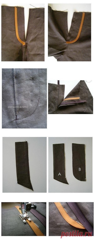 Красиво вшиваем молнию в брюки: мастер-класс — Сделай сам, идеи для творчества - DIY Ideas