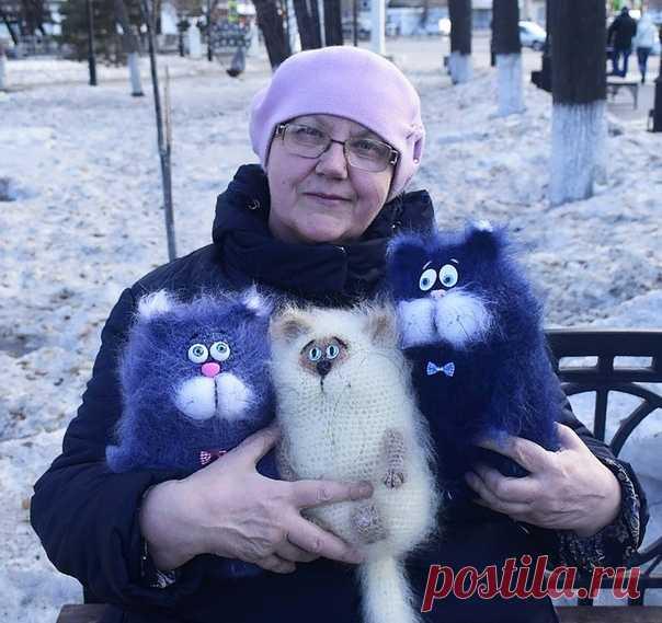 Восхитительная работа! Как Вам котики? 😍
