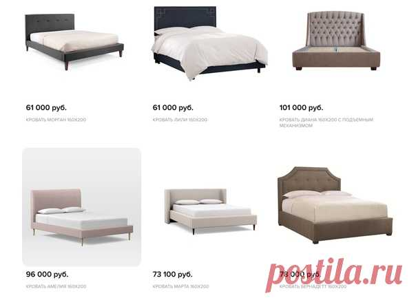 We give a mattress, the lifting mechanism or bed linen