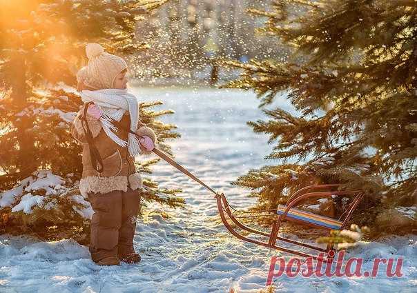 Доброе утро, зима! Время чудес близко 🎄⛄