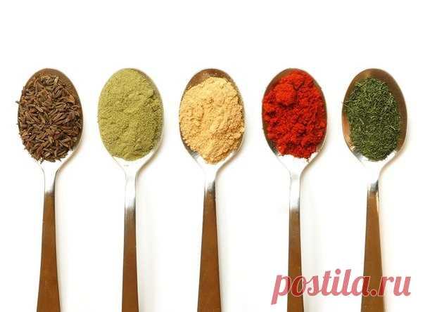 Пряности - альтернатива химическим витаминам.
