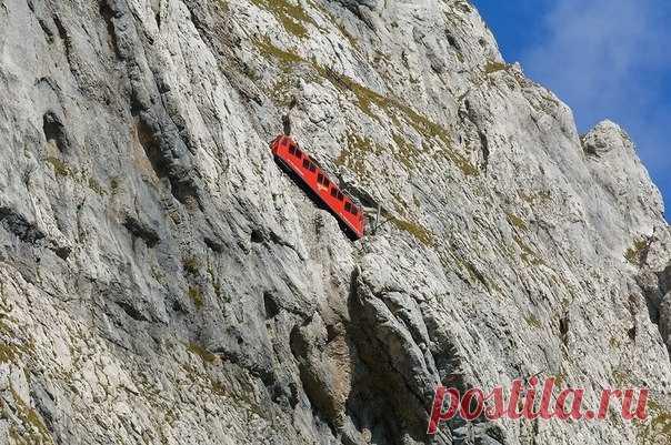 Пилатусбан - самая крутая зубчатая железная дорога в мире - Путешествуем вместе