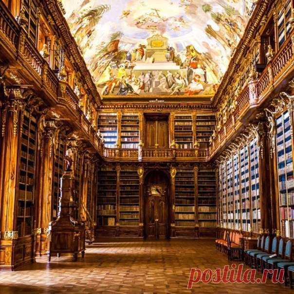 Клементинум - самая красивая библиотека в мире, Прага, Чехия 🇨🇿