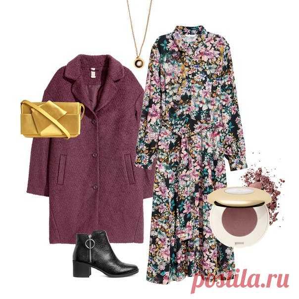 Помните, что цветочные узоры можно носить не только летом! Поднимите себе настроение в холодную погоду, дополнив свой образ актуальными моделями с цветочными принтами. #HM