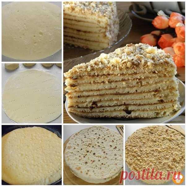 Торт со сгущенкой на сковороде. ᅠ Рецептом этого торта я пользуюсь уже много лет. Было время, когда у нас не было духовки и тогда спасали рецепты тортиков, приготовленных на сковороде. Вот один из удачных рецептов. Торт со сгущенкой, приготовленный на сковороде, получается большой и очень вкусный, главное - дать ему хорошо пропитаться. Показать полностью…