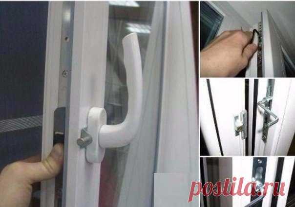 Уход за пластиковыми окнами для продления их срока службы