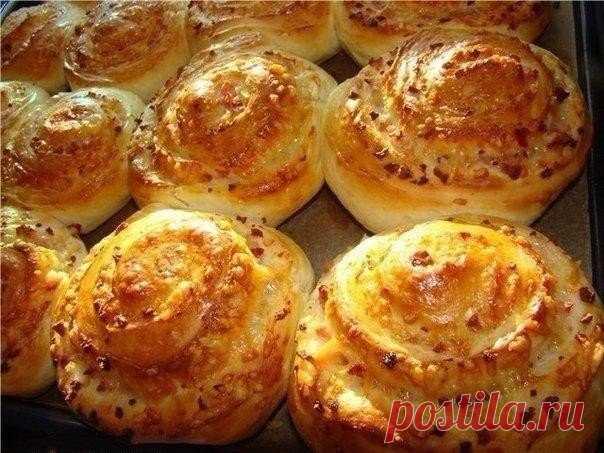 Сырные булочки на кефире