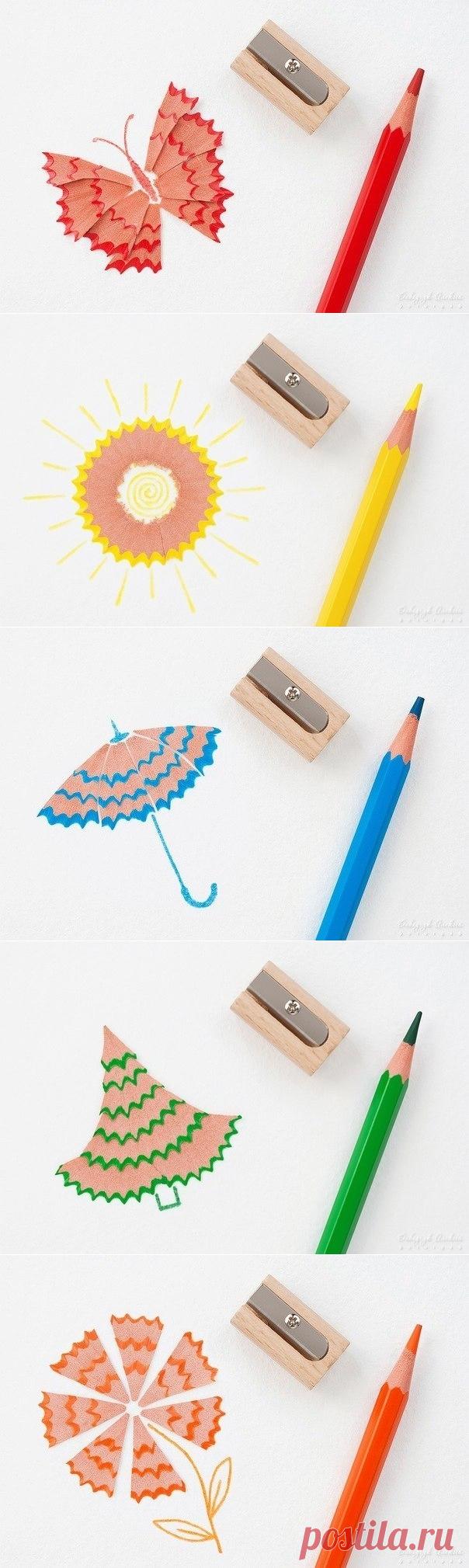 картинки из остатков карандаша кричу