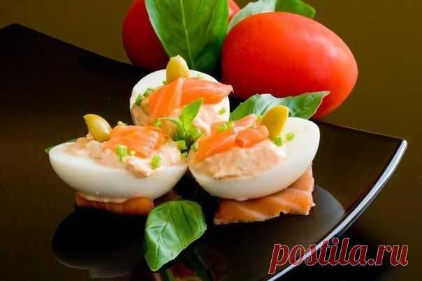 Фаршированные яйца (26 вариантов).
