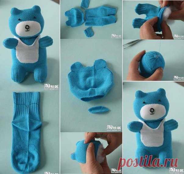 Как сделать самому ребёнку игрушку