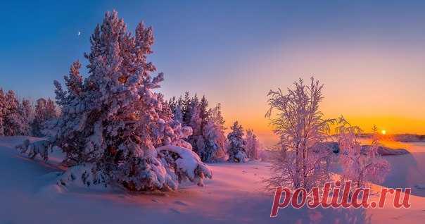 Около Ладожского озера, Карелия. Автор фото: Фёдор Лашков.