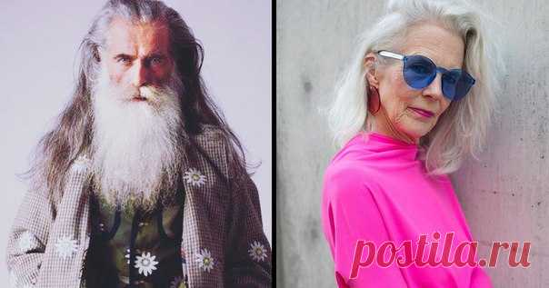 13 stylish aged people who will give odds to many Hollywood stars