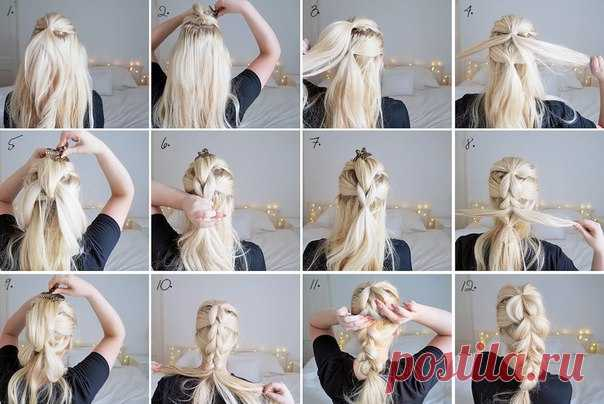 La idea para el peinado
