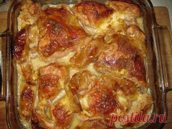 шеф-повар Одноклассники: Куриные ножки запеченые с яблоками.