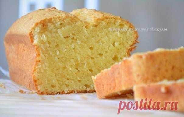Творожный кекс (быстро, просто и ооочень вкусно : )  Вам потребуется:  все продукты комнатной t: Показать полностью…