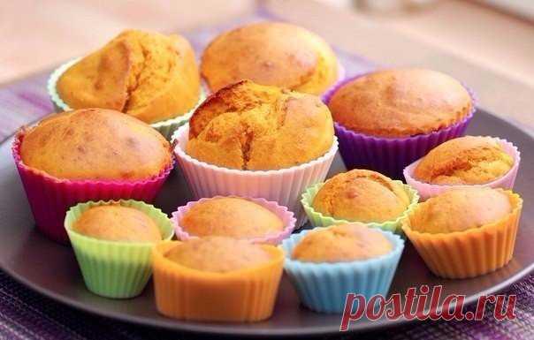 Тыквенные кексы с овсянкой: любимое блюдо тех, кто на диете!