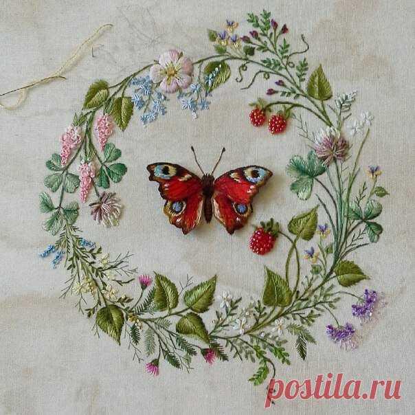 ¡El bordado como forma de vida! El | Rosa Andreeva | Yandex Zen