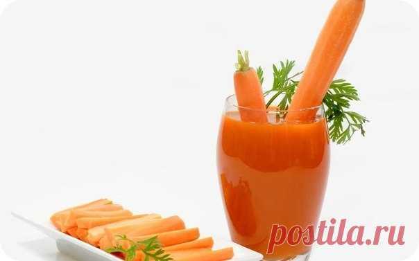 Морковное очищение почек.
