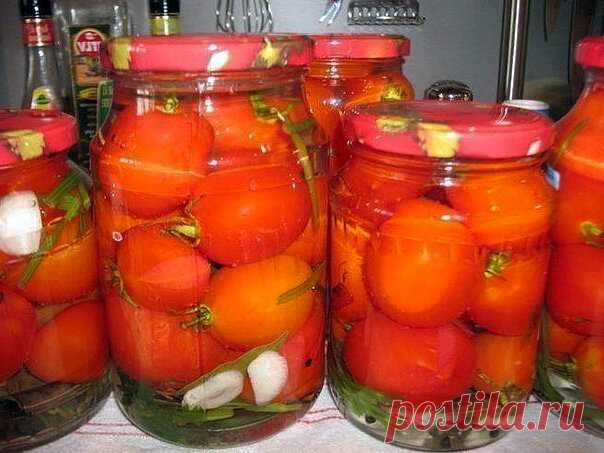 Маринованные помидоры, сладко-острые, на зиму. | Просто-Вкусно-Технологично | Яндекс Дзен