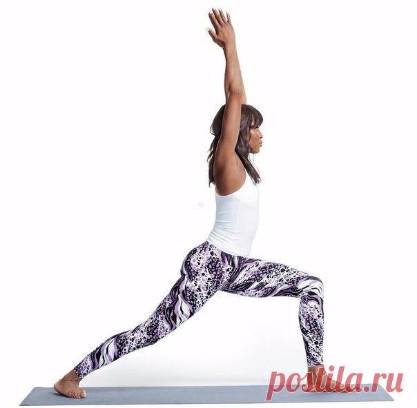 Комплекс упражнений для идеальной фигуры от Наоми Кэмпбелл