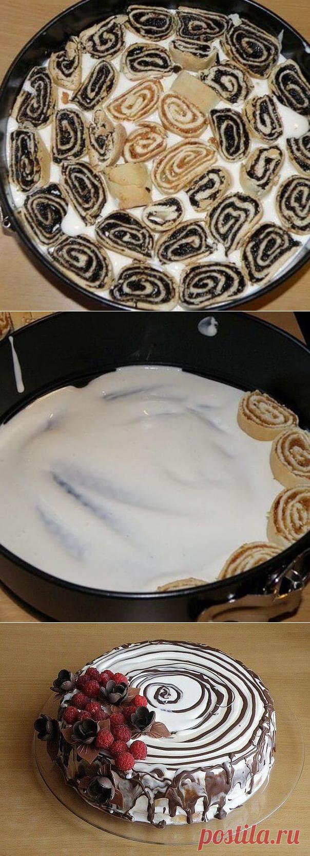 Торт «Трухлявый пень» — необыкновенно вкусный — Бабушкины секреты