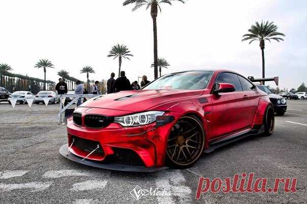 BMW E90 in excellent tuning