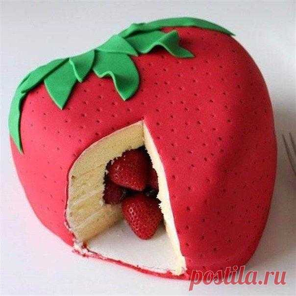 Как сделать оригинальный тортик — Полезные советы