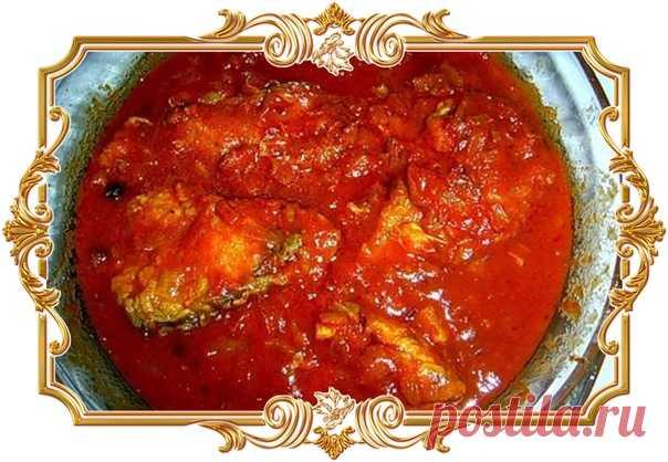 Заливная рыба в томате   Время приготовления: 60 минут.   Ингредиенты  Показать полностью…