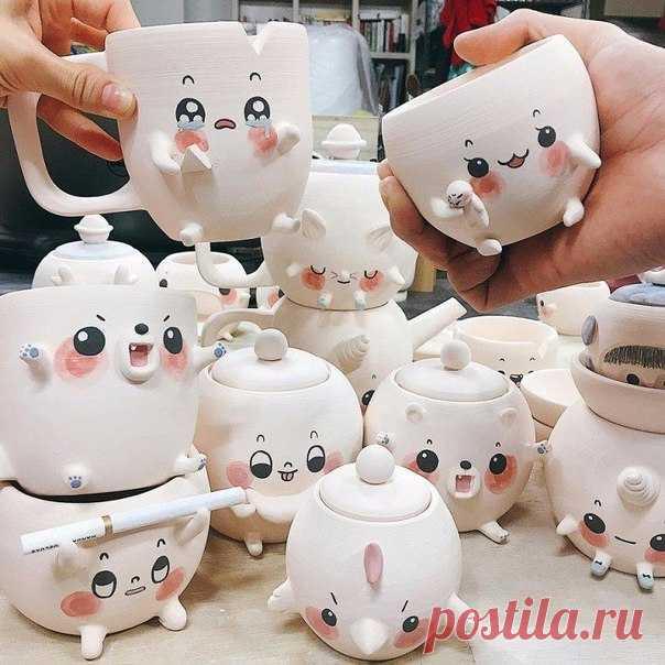 Такая милая посуда