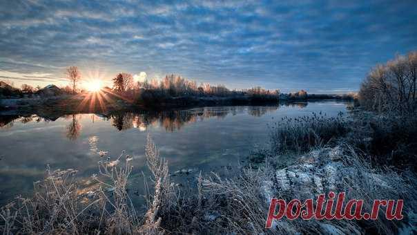 Первый лед на реке Дубна. Автор фото – Андрей Чиж: nat-geo.ru/photo/user/333938/
