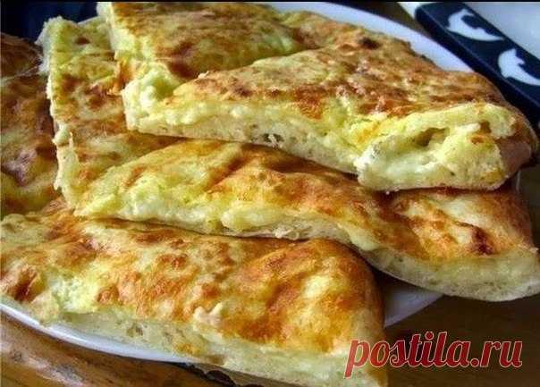 """Любимый завтрак моего мужа – Быстрое """"хачапури"""" к завтраку!"""