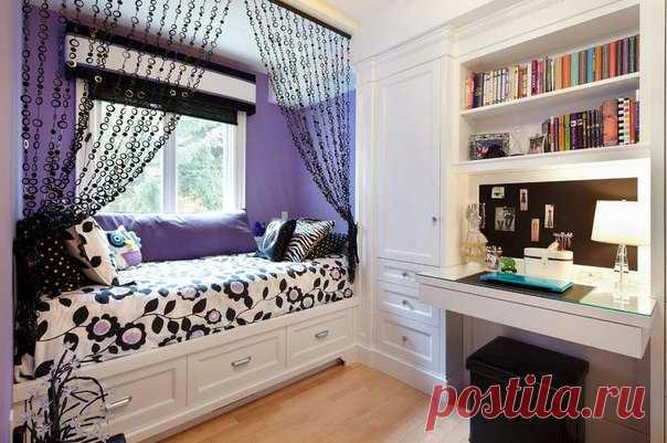 Оригинальная кровать для девочки