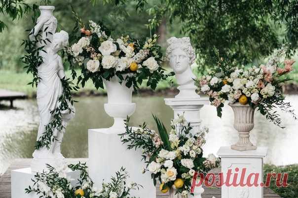 Наша маленькая Италия: свадьба в усадьбе 🌺