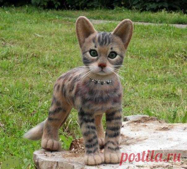 Котёнок бенгальской породы. Красавец... Мастерице ❤