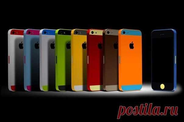 Скоро, мир засияет новыми красками Красками бюджетного iPhone ...